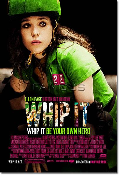 【映画ポスター】 ローラーガールズダイアリー (WHIP IT) 片面 オリジナルポスター