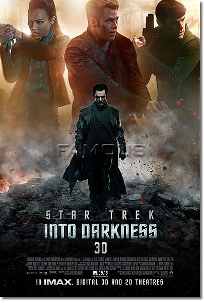 【映画ポスター】 スタートレック イントゥダークネス (STAR TREK INTO DARKNESS) INT-B-両面 オリジナルポスター