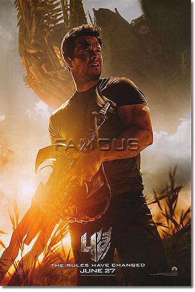 【映画ポスター】 トランスフォーマー/ロストエイジ (マークウォールバーグ/TRANSFORMERS) Wahlberg ADV-両面 オリジナルポスター