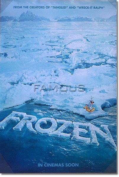 【映画ポスター】 アナと雪の女王 (ディズニー/FROZEN) INT-ADV-両面 オリジナルポスター