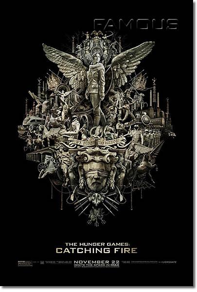【映画ポスター】 ハンガーゲーム2 (ジェニファーローレンス/THE HUNGER GAMES) IMAX-両面 オリジナルポスター