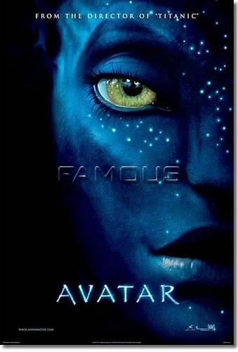 【映画ポスター】 アバター (AVATAR) INT-A-両面 オリジナルポスター