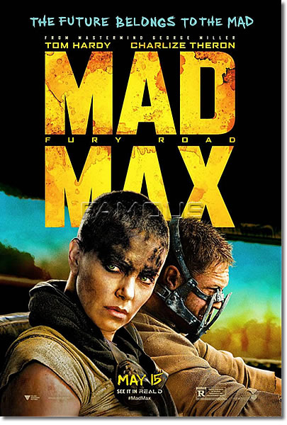 【映画ポスター】 マッドマックス 怒りのデスロード (シャーリーズセロン/MAD MAX: FURY ROAD) /ADV-B-両面 オリジナルポスター