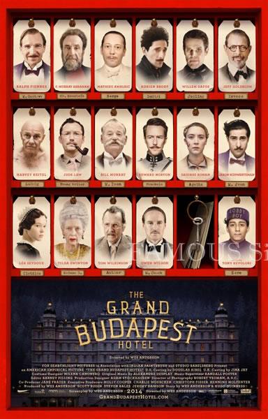 【映画ポスター】 グランドブダペストホテル (レイフファインズ/The Grand Budapest Hotel) /両面 オリジナルポスター