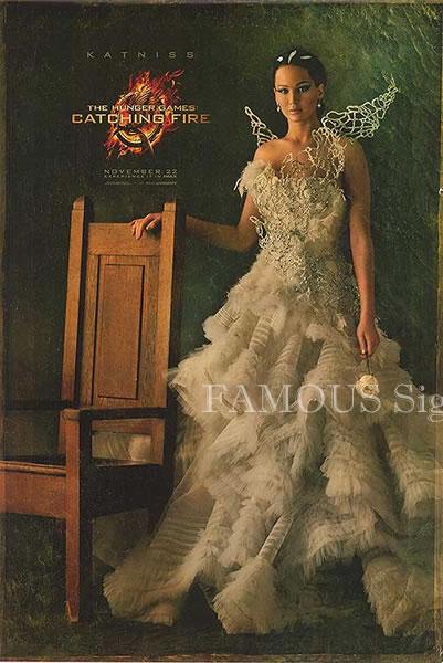 【映画ポスター】 ハンガーゲーム2 (ジェニファーローレンス/The Hunger Games: Catching Fire) /Katniss ADV-両面 オリジナルポスター