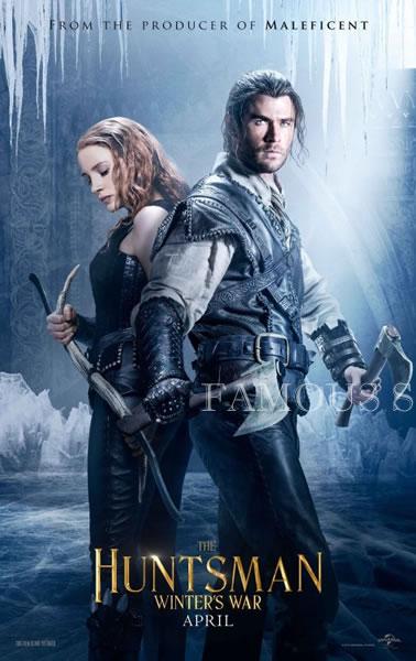 【映画ポスター】 スノーホワイト 氷の王国 (クリスヘムズワース/The Huntsman: Winter's War) /ADV 両面 オリジナルポスター