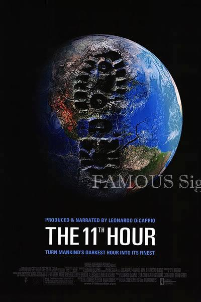 【映画ポスター】 The 11th Hour (レオナルドディカプリオ) /両面 オリジナルポスター
