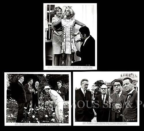 【映画スチール写真3枚セット】007 カジノロワイヤル (デヴィッドニーヴン/Casino Royale) ロビーカード/グッズ