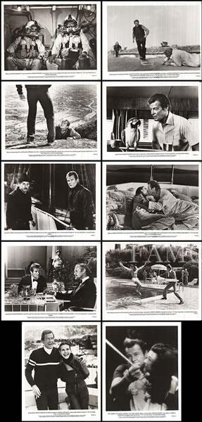【映画スチール写真10枚セット グッズ】007 ユアアイズオンリー (ジェームズボンド/For Your Eyes Only) ロビーカード
