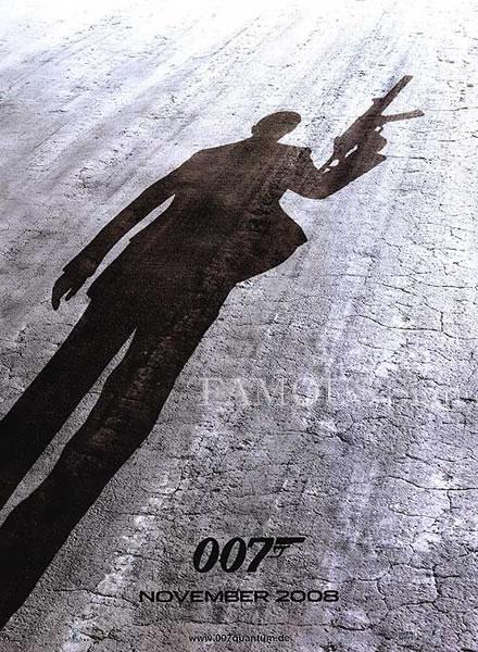 【映画ポスター】 007 慰めの報酬 (ダニエルクレイグ/ジェームズボンド/Quantum of Solace) /ドイツ版 両面 オリジナルポスター