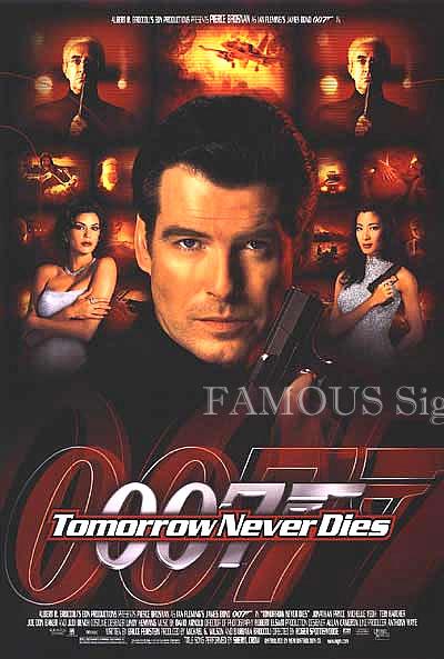 【映画ポスター】 007 トゥモローネバーダイ (ピアースブロスナン/ジェームズボンド/Tomorrow Never Dies) /REG 片面 オリジナルポスター