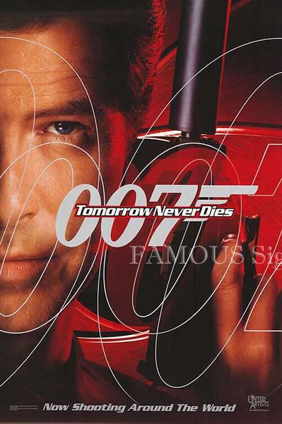 【映画ポスター】 007 トゥモローネバーダイ (ピアースブロスナン/ジェームズボンド/Tomorrow Never Dies) /ADV 片面 オリジナルポスター