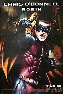 【映画ポスター】 バットマン フォーエヴァー (クリスオドネル/Batman Forever) /ロビン ADV 両面 オリジナルポスター