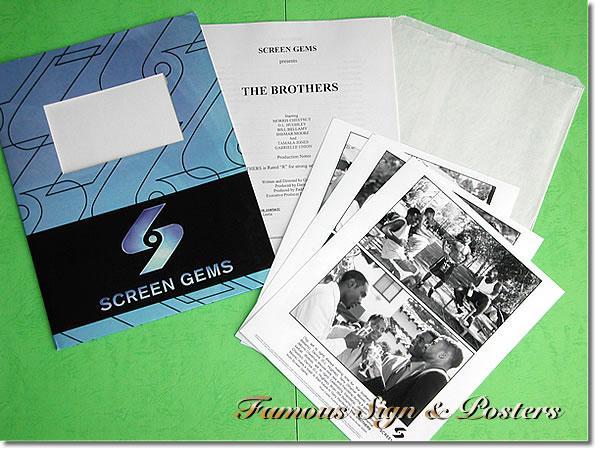【映画パンフレット】 THE BROTHERS (モリスチェストナット) プレスキット/中古