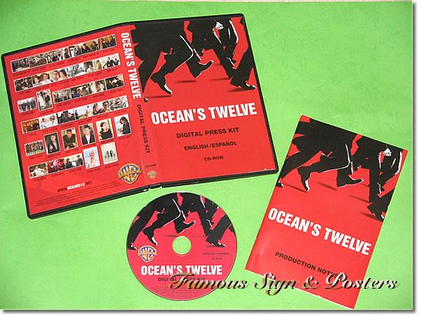 【映画パンフレット】 オーシャンズ12 (OCEAN'S TWELVE) プレスキット/中古