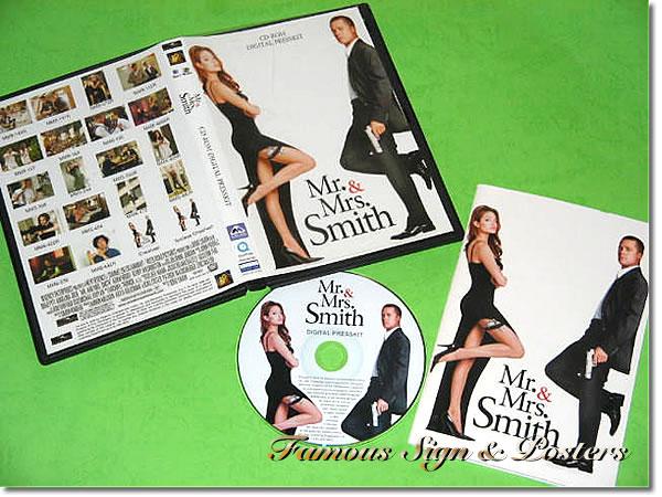 【映画パンフレット】 Mr.&Mrs. スミス (アンジェリーナジョリー/MR. & MRS. SMITH) プレスキット/中古