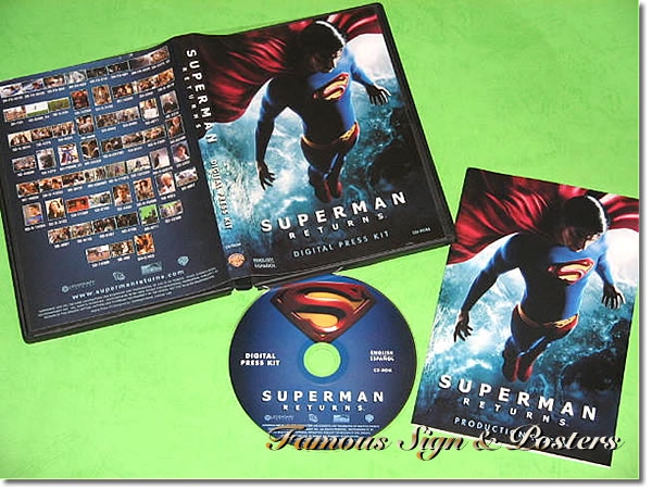 【映画パンフレット】 スーパーマン リターンズ (SUPERMAN RETURNS) プレスキット/中古