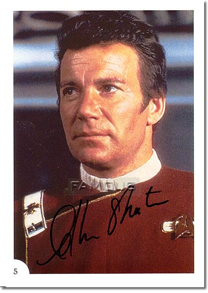 【直筆サイン入り写真】 ウィリアムシャトナー William Shatner (スタートレック) 映画グッズ/オートグラフ