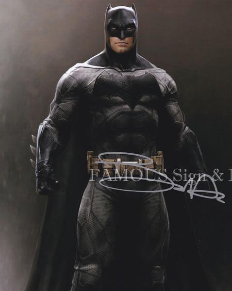 【直筆サイン入り写真】 ベンアフレック (バットマン vs スーパーマン ジャスティスの誕生/Ben Affleck) 映画グッズ/オートグラフ