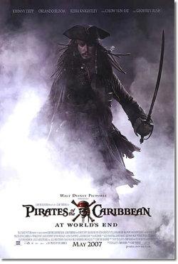 【映画ポスター】 パイレーツオブカリビアン ワールドエンド MAY 2007 REG-両面 オリジナルポスター