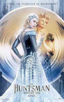 【映画ポスター】 スノーホワイト 氷の王国 (シャーリーズセロン/The Huntsman: Winter's War) /悪役 ADV 両面 オリジナルポスター