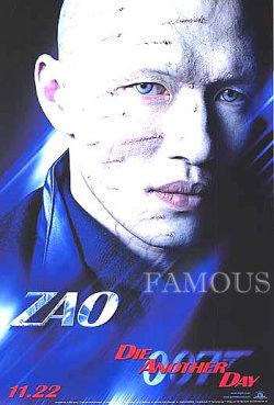 【映画ポスター】 007 ダイアナザーデイ (ジェームズボンド/Die Another Day) /リックユーン ADV 片面 オリジナルポスター