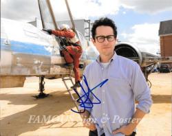 【直筆サイン入り写真】 JJエイブラムス (スターウォーズ フォースの覚醒/JJ Abrams) 映画グッズ/オートグラフ