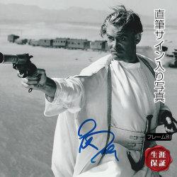 【直筆サイン入り写真】 アラビアのロレンス ピーター・オトゥール /映画 ブロマイド オートグラフ 約20×25cm /フレーム別