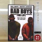 【映画ポスター】 バッドボーイズ3 フォーライフ ウィル・スミス /インテリア アート おしゃれ フレーム別 /ADV-両面 オリジナルポスター