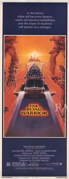 【映画ポスター】 マッドマックス2 (メルギブソン/Mad Max) /片面 オリジナルポスター