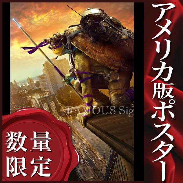 【映画ポスター】 ミュータント ニンジャ タートルズ 影 シャドウズ TMNT /ドナテロ ADV 両面 オリジナルポスター