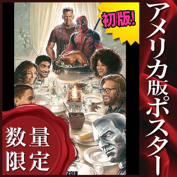【映画ポスター】 デッドプール2 Deadpool グッズ /マーベル アメコミ /インテリア アート おしゃれ フレームなし /ADV-両面 オリジナルポスター