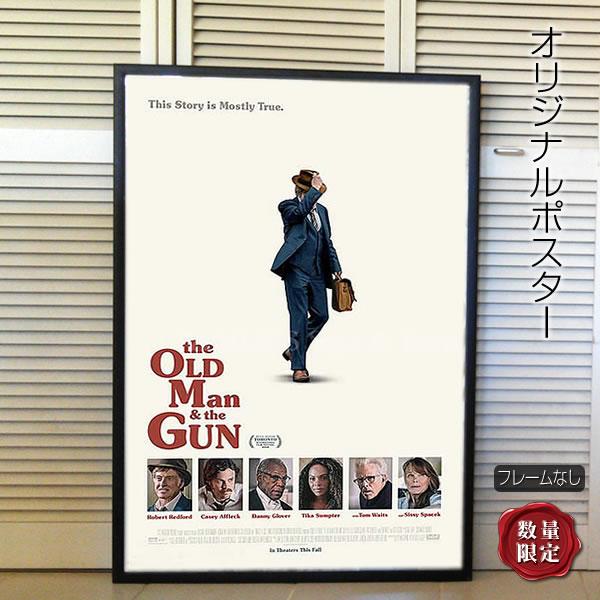 【映画ポスター】 さらば愛しきアウトロー ロバート・レッドフォード /おしゃれ インテリア アート フレームなし /REG-両面 オリジナルポスター