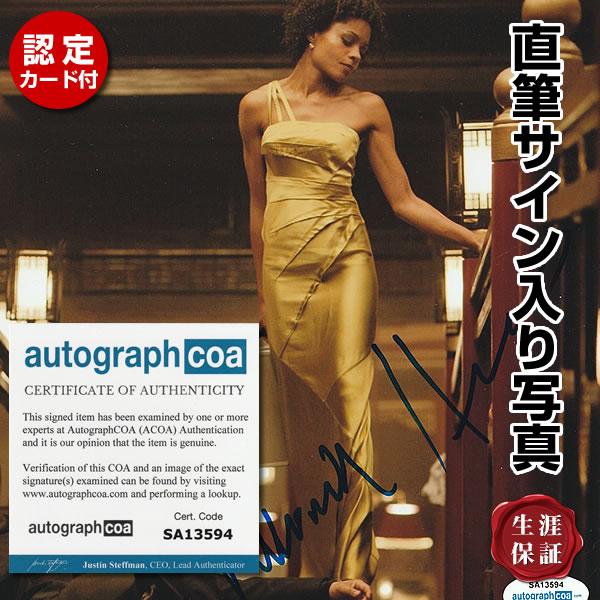 【直筆サイン入り写真】 007 スカイフォール 映画シリーズ グッズ ナオミハリス Naomie Harris SKYFALL オートグラフ フレーム別 /ACOA認定済み
