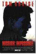 【映画ポスター】 ミッション インポッシブル (トムクルーズ/MISSION: IMPOSSIBLE) REG-SS オリジナルポスター