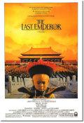【映画ポスター】 ラストエンペラー (THE LAST EMPEROR) REG-SS オリジナルポスター