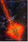 【映画ポスター】 スタートレック6 未知の世界 (STAR TREK) SS オリジナルポスター