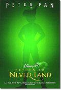 【映画ポスター】 ピーターパン2 ネバーランドの秘密 (ディズニー) ADV-両面 オリジナルポスター