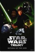 【映画ポスター】 スターウォーズ トリロジー (STAR WARS TRILOGY/マークハミル) Return of the Jedi RIPRINT-SS