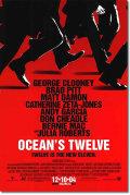 【映画ポスター】 オーシャンズ12 (OCEAN'S TWELVE) REG-両面 オリジナルポスター