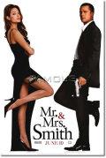【映画ポスター グッズ】Mr.&Mrs. スミス (MR. & MRS. SMITH) [ADV-両面] [オリジナルポスター]