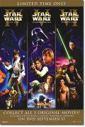 【映画ポスター】 スターウォーズ トリロジー (STAR WARS TRILOGY/ハリソンフォード) /DVD/Video-SS