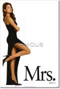 【映画ポスター グッズ】Mr. & Mrs. スミス (アンジェリーナ・ジョリー/MR. & MRS. SMITH) [Angelina Jolie ADV-両面] [オリジナルポスター]