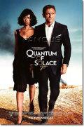 【映画ポスター】 007 慰めの報酬 (ダニエルクレイグ/QUANTUM OF SOLACE) Blue REG-SS オリジナルポスター