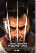 【映画ポスター】 ウルヴァリン X-MEN ZERO (WOLVERINE) REG-両面 オリジナルポスター