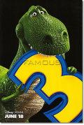 【映画ポスター】 トイストーリー3 (TOY STORY 3) Rex ADV-両面 オリジナルポスター