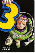 【映画ポスター】 トイストーリー3 (ディズニー グッズ/TOY STORY 3) Buzz ADV-両面 オリジナルポスター