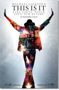 【映画ポスター グッズ】マイケル・ジャクソン THIS IS IT [Michael Jackson concert-両面 non glossy]★両面印刷・光沢なし★ [オリジナルポスター]