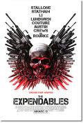 【映画ポスター】 エクスペンダブルズ (THE EXPENDABLES) REG-両面 オリジナルポスター