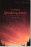 【映画ポスター】 トワイライトサーガ/ブレイキングドーン Part1 (THE TWILIGHT SAGA) 両面 オリジナルポスター